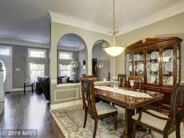traditional dining room with wainscoting u0026 crown molding in