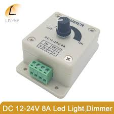 what is the best dimmer for led lights best quality dc 12v 8a led light protect strip dimmer adjustable