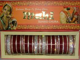 Indian Wedding Chura Glistening Maroon Indian Chura 2 8