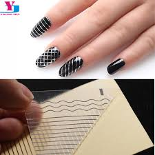 aliexpress com buy 10pcs lot gold silver 3d nail art stickers