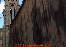 Clean Wall Stains by Stains U0026 Discoloration On Buildings How To Diagnose Stains On