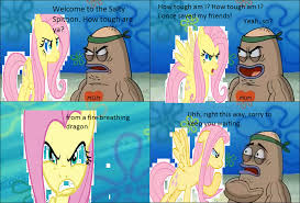 Salty Spitoon Meme - welcome to the salty spitoon fluttershy by cartoonstar92 on deviantart