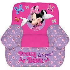 disney minnie mouse toddler bean bag chair walmart com