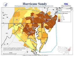 Hurricane Map Hurricane Sandy Fda Voice
