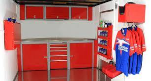v nose enclosed trailer cabinets sportsman ii mobile enclosed trailer cabinets moduline