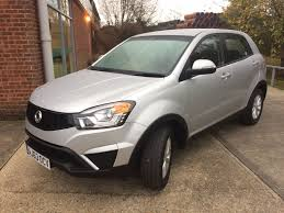ssangyong korando used ssangyong korando cars for sale drive24