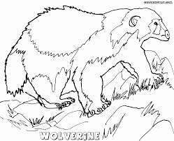 wolverine coloring pages coloring pages to download and print