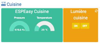 sonde de temperature cuisine sonde de température esp easy à base de dht22 et bouton de commande