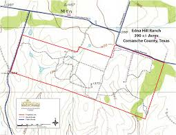 Property Line Map Texas Ranches For Sale Edna Hill Ranch