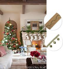 traditional home christmas decorating samuel and sons passementerie