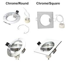 Adjustable Recessed Downlights Recessed Downlight Frames Ceiling Spotlight Hole Gu10 Adjustable