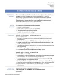 cover letter business analyst resume templates business analyst