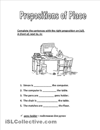 15 best images of spanish preposition worksheet free free