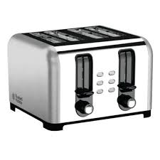 Russel Hobbs Toaster Buy Russell Hobbs 23540 4 Slice Wide Slot Toaster Brushed