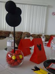 mickey mouse center pieces mickey mouse baby shower party ideas photo 7 of 29 catch my party