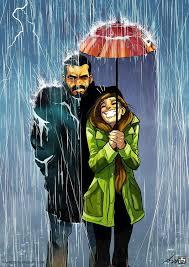 la vida en pareja de este artista presentada en originales cómics