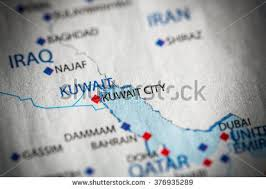 kuwait on a map kuwait map stock images royalty free images vectors
