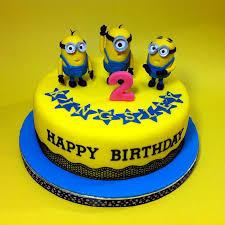 minion birthday cakes yellow minion fondant cakes jb kl penang cakedeliver 新山吉隆坡