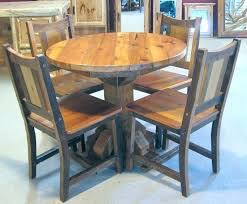 round wood table with leaf sturdy round oak kitchen table wood and chairs solid
