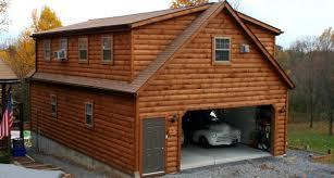breathtaking log cabin garage floor plans with outdoor wall