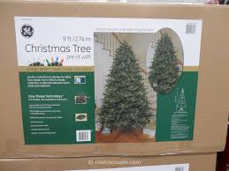 charming ideas 9 ft pre lit led tree ge 12 led
