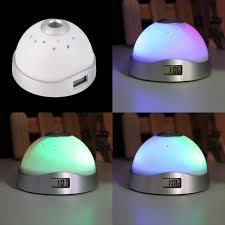 light projection alarm clock home decoration digital magic led lights led funny alarm clock laser