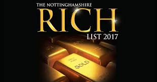 Nottinghamshire County Council Committee System Nottinghamshire Rich List 2017 Is Revealed Nottingham Post
