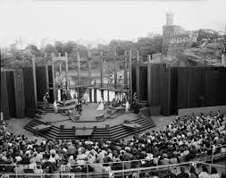 history of theater in parks nyc parks