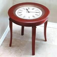Clock Coffee Table Clock Coffee Table Coffee Table With Clock Top Coffee Table With