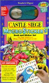 siege mcdonald castle siege microstickers amazon co uk fiona mcdonald gary
