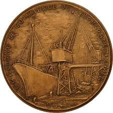 chambre de commerce boulogne 552018 medal chambre de commerce de boulogne sr mer port