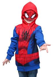 Boys Spider Halloween Costume Spider Man Kid U0027s Costume Hoodie