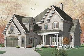 Traditional Home Bedrooms - house plan w3827 detail from drummondhouseplans com