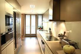 cuisine longueur cuisine en longueur couloir ouverte sur salon lolabanet com