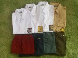 Seragam Sekolah Lengan Panjang jual beli seragam sekolah di jawa timur agen distributor supplier