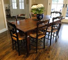 Antique Walnut Laminate Flooring French Provence Antique Farm Country Dining Table With Charming
