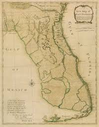 Panhandle Florida Map by Tampa Bay History Center Artifact Spotlight William Stork U0027s 1767