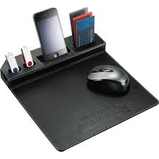 metropolitan mouse pad with phone holder a classy tech giveaway