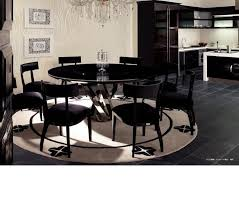 dining room table with lazy susan dining room inspiring dining room decoration using round black