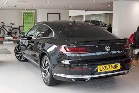 volkswagen arteon 2017 black used 2017 volkswagen arteon 2 0 tsi r line 4motion 280ps dsg for