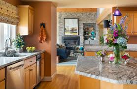 best wall color with oak kitchen cabinets the best paint colours for your oak and maple cabinetry