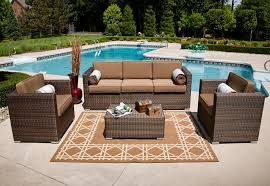 Outdoor Patio Furniture Wicker Home Design Ideas And Pictures - Upscale outdoor furniture