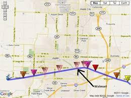 joplin mo map reflecting on the joplin missouri ef5 tornado of may 22 stormtalk