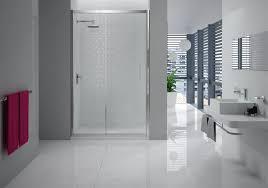 bathroom rounded sliding shower door for corner shower