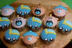 baby shower ideas for cupcakes baby face baby shower diy