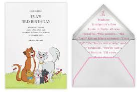paperless u0027s disney party invitations cool mom picks