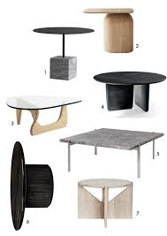 amm blog 7 modern coffee tables with elegant silhouettes
