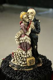 corpse cake topper spooky cake ideas
