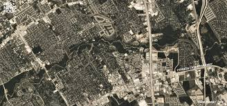 Houston Tx Zip Code Map by New Satellite Photos Reveal Extent Of Harvey Flooding In Houston