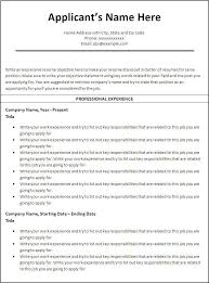 Quick Resume Maker Free Free And Easy Resume Builder Basic Resume Template 51 Free